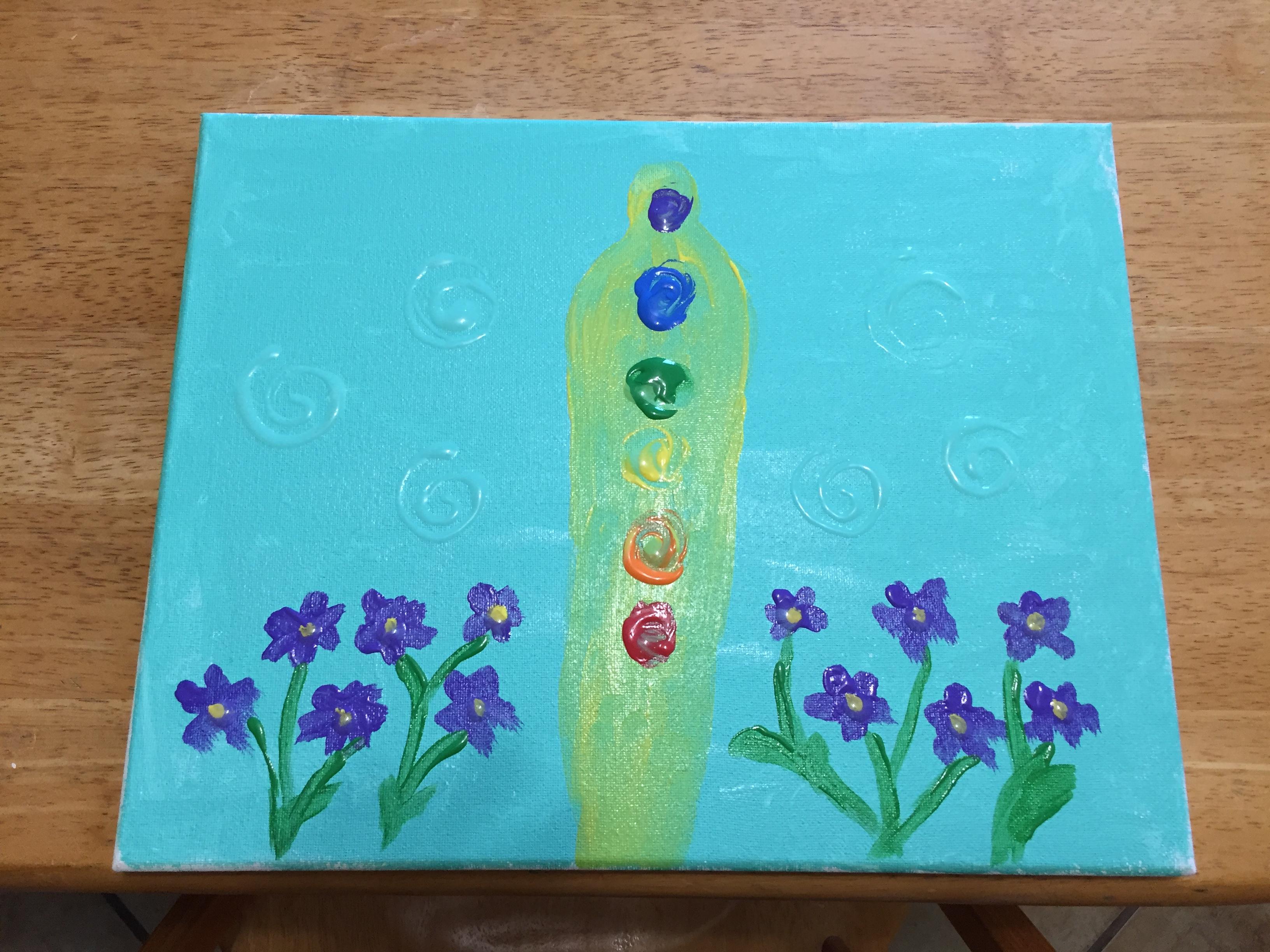 IMG_0009 30 April 2020 Jackie Wygant painting Alvarado TX